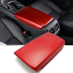 Gen Red Abs Center Armrest Box Panel Cover Trim For Honda Accord 2018-2020 10th
