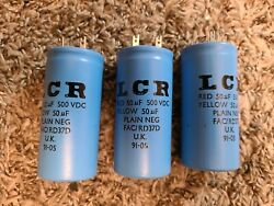 1 Lcr Nos Marshall 50uf 500v Capacitors Made In Uk No Longer Made Vox Ac30