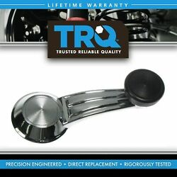 Trq Window Crank Handle Chrome And Black Driver Or Passenger Side For Gm Vehicles