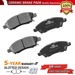 Front Ceramic Brake Pad For 2013-2016 Nissan Versa And Versa Note