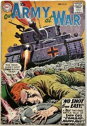 Dc Comics Our Army At War 89 1959 Silver Age Sgt. Rock