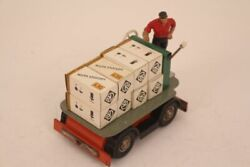 Strenco Express Baggage With Driver Tin Toy 50er W.germany