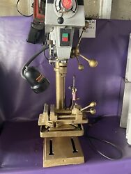Delta Drill Press Dp350 Shop Master Heavy Duty 500 To 3100 Rpm Variable Speed