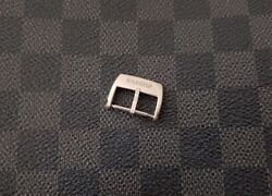 Richard Mille Watch Strap Buckle 18mm Authentic Rm White Gold Tang Buckle Oem