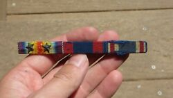 Ww1 Us Military 3/8 Ribbon Bar Victory Philippine Congressional Campaign