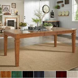 Elena Solid Wood Extendable Rectangular Dining Table By