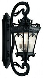 Tournai - 4 Light Outdoor Wall Mount - 46 Inches Tall By 17 Inches Wide