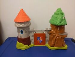 Mike The Knight Fisher-price Glendragon Castle Playset No Accessories