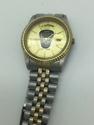 State Highway Patrol - Ohio Mens Wrist Watch Two Tone Stainless