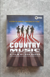 Country Music A Film By Ken Burns Dvd, 8-disc Free Shipping