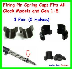 Firing Pin Spring Cups Fits All Glock Models And Gen 1-5 1 Pair