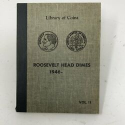 Hsandc Library Of Coins Vol 11 Roosevelt Head Dimes Coin Album-used