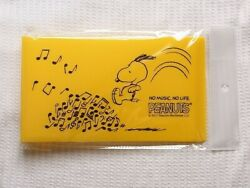 Snoopy Tower Records Collaboration Ticket File Tawaleco