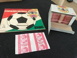 Album World Cup 86 Mexico 1986 And 100 Packets In Display No Panini