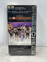 Very Rare Ghostbusters 1984 Orig Vhs Sealed Digital Widescreen Limited Ed.