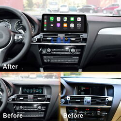 12.3 Ips Android Car Stereo Gps Car Auto Play 8-core For Bmw X3 X4 F25 F26 Nbt