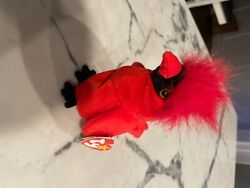 Ty Beanie Babies Mac The Cardinal Plush Rare 1998 Great For Your Collection. Err