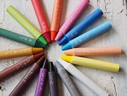 Touichi Crayon 16color Handmade By Japanese Craftsmen With Peace Of Mind Beeswa