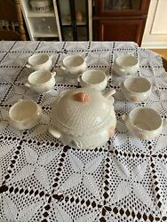 Himark Sea Catch Collection Soup Tureen With Ladle And Bowls Lot