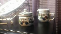 Goebel Dinnerware Vintage Pottery Plate Pitcher Cups Bowls
