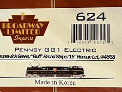 Ho Broadway Limited Imports 624 Prr 4868 Pennsy Gg1 Electric Locomotive - Bn