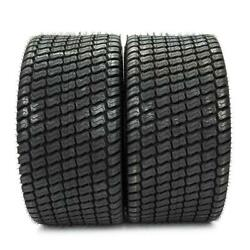 Both 4pr 24x12x12 Turf Lawn Tractor Mower Tires Max Load Lbs 1710 Tubeless