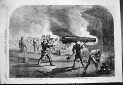 Old Main Battery Fort Sumter Guns Bearing Fort Moultrie Channel 1861 Victorian