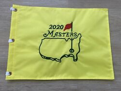 2020 Masters Golf Pin Flag Embroidered Augusta National New