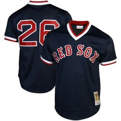 Boston Red Sox Wade Boggs 26 Mitchell And Ness 1992 Authentic Mesh Bp Jersey