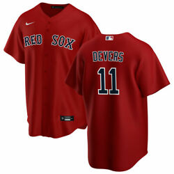 Boston Red Sox Rafael Devers 11 Nike Men's Official Mlb Player Jersey