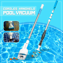 Cordless Swimming Pool Vacuum Cleaner Rechargeable Above Ground Cleaning