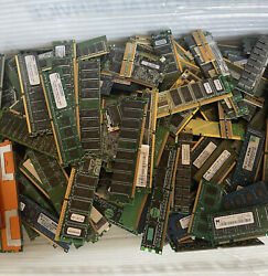10.89 Lbs Scrap Computer Server Memory Ram For Gold Recovery