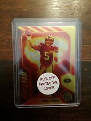 Trey Lance Nuclear 2021 Panini Elements Insert Ssp - Extremely Rare 49ers
