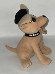 6 Taco Bell Restaurant Chihuahaua Dog Plush With Logo Beret Toy Stuffed Animal