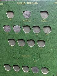 Book Of Shield Liberty Buffalo Nickel Collection In Whitman Holder Coins
