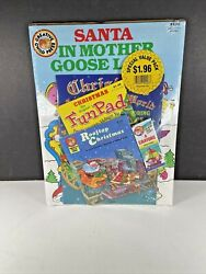 Vtg Nos 1980's Sealed Santa Claus In Mother Goose Land Value Pack Fun Activity