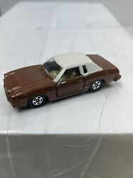Tomica F38 Ford Mustang Ghia Ii 163 Made In Japan Mint Rare Brown White