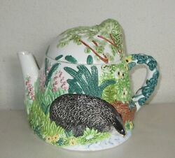 Western House The Village Teapot Collectibles Badger By Annie Rowe