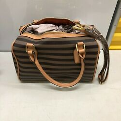 """Adrienne Vittadini """"The Hayes Collection"""" Barrel Bag New With Tags $39.99"""