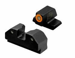 Sights R3d Tritium Night Sight For Glocks Gen 1-5 And Taurus Front And Rear