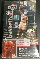 1997-98 Upper Deck Series 2 Basketball Factory Sealed 28 Pack Retail Box Rare