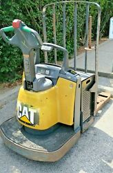 Cat Electric Pallet Jack Forklift Pre-owned [local Pickup Only]