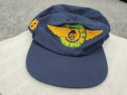 90s Vtg Husky Husqvarna Air Power Wings Logo K-products Made In Usa Hat Cap