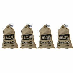 Myron Mixon Smokers Bbq Wood Chunks For Smoking And Grilling, White Oak 4 Pack