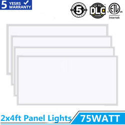 75w Led Flat Panel Light 2x4ft Recessed Ultra-thin Home/office Ceiling Lighting