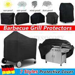 Barbecue Grill Bbq Gas Protector Covers Heavy Duty Waterproof Garden Out