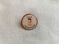 Noc Germany Olympic Committee For Olympic Games Pyeongchang 2018 Pin