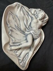 Vintage Pinup Girl Ashtray Holland Mold Bathing Beauty, 50s 60s 70s Risque