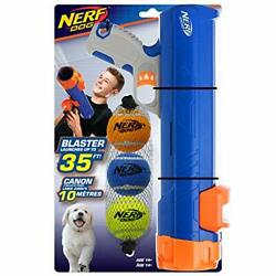 Nerf Dog Large Size Tennis Ball Blaster Dog Toy Great For Fetch Hands-free Re...