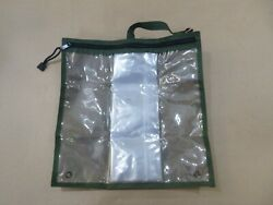 Usgi Military Map Case 13-1/2 X 13-1/2 Weather And Dust Proof Woodland Camo